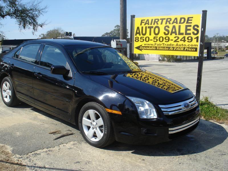 2007 ford fusion awd v6 se 4dr sedan in tallahassee fl. Black Bedroom Furniture Sets. Home Design Ideas