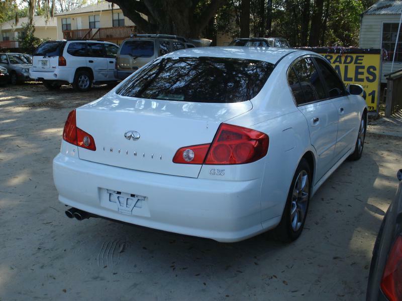 2005 Infiniti G35 Rwd 4dr Sedan - Tallahassee FL