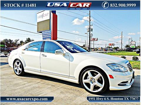 2011 Mercedes-Benz S-Class for sale in Houston, TX