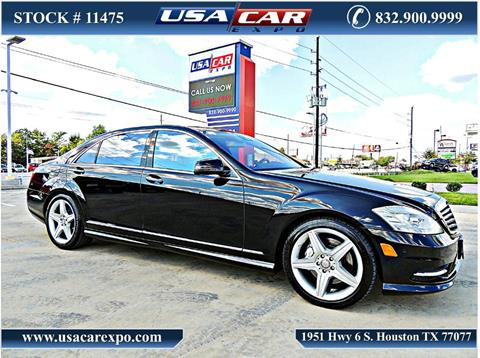 2010 Mercedes-Benz S-Class for sale in Houston, TX