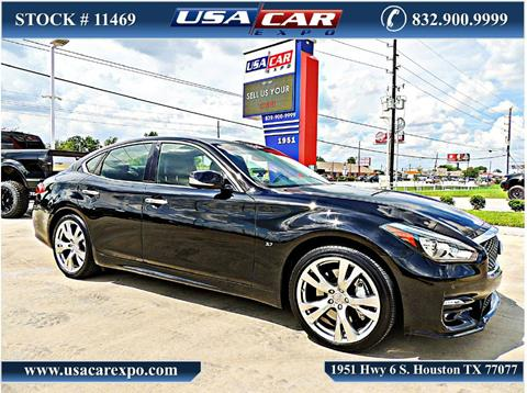 2015 Infiniti Q70 for sale in Houston, TX