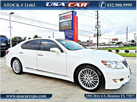 2011 Lexus LS 460 for sale in Houston, TX