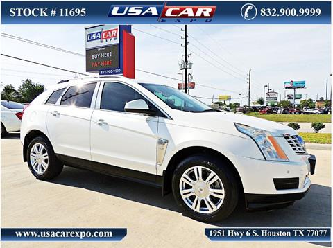 2014 Cadillac SRX for sale in Houston, TX