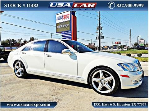 2007 Mercedes-Benz S-Class for sale in Houston, TX