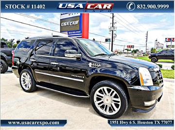 2008 Cadillac Escalade for sale in Houston, TX