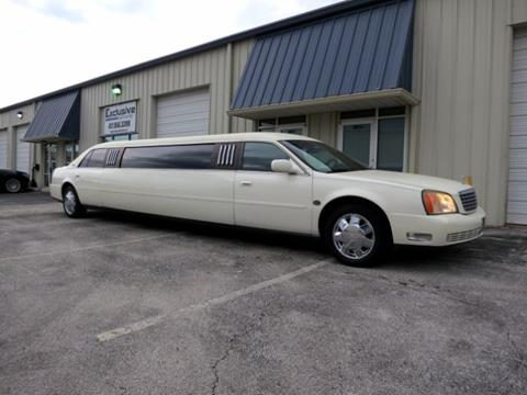 Limousine For Sale >> 2002 Cadillac Deville Professional For Sale In Springfield Mo