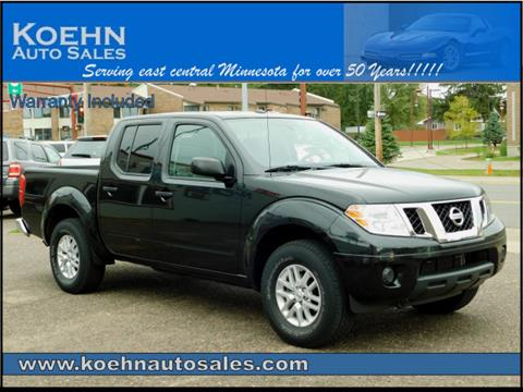 2016 Nissan Frontier for sale in Lindstrom, MN