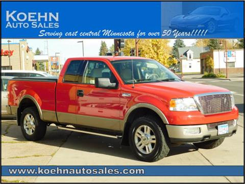 2004 Ford F-150 for sale in Lindstrom, MN