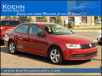 2016 Volkswagen Jetta for sale in Lindstrom, MN