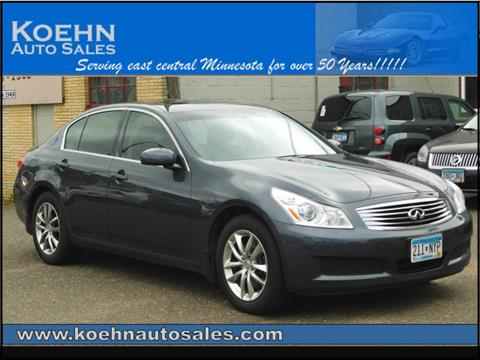 2008 Infiniti G35 for sale in Lindstrom, MN