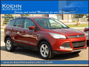 2016 Ford Escape for sale in Lindstrom, MN