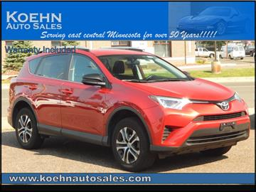 2016 Toyota RAV4 for sale in Lindstrom, MN