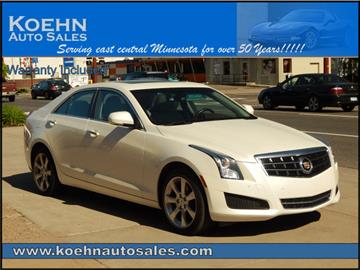 2014 Cadillac ATS for sale in Lindstrom, MN