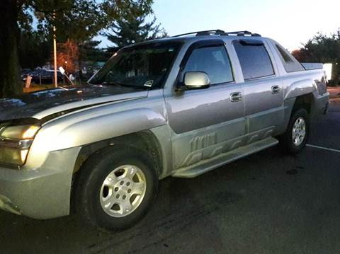2002 Chevrolet Avalanche for sale in Capitol Heights, MD