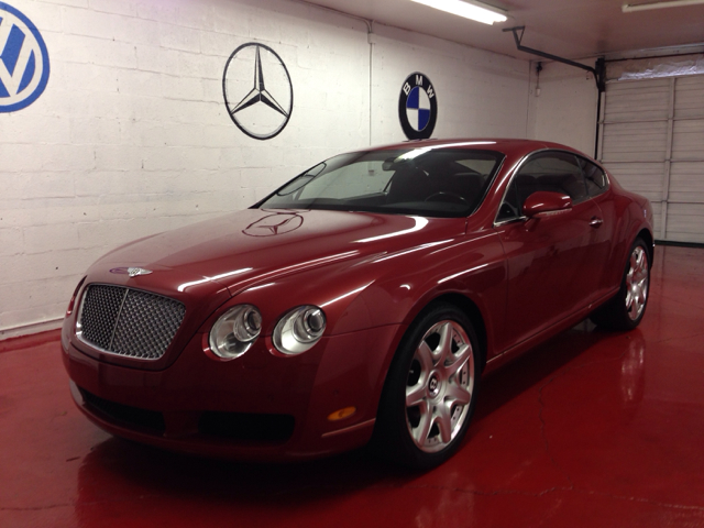 2007 BENTLEY CONTINENTAL GT COUPE red very clean car clean carfax clean title only 25000 m