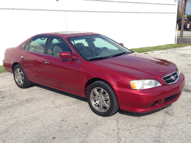 1999 ACURA TL 32TL red selling a 1999 acura 32tltan leather interior-sunroofautomatic