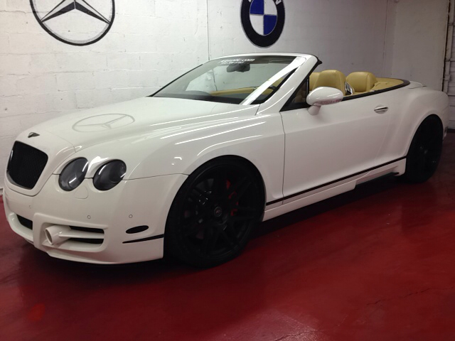 2007 BENTLEY CONTINENTAL GTC SPEED MANSORY white mansory gtc convertible one of a kind for mo