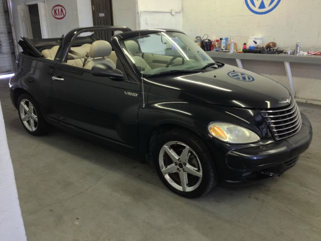 2005 CHRYSLER PT CRUISER GT CONVERTIBLE black selling a 2005 chrysler pt cruiser turbo charged