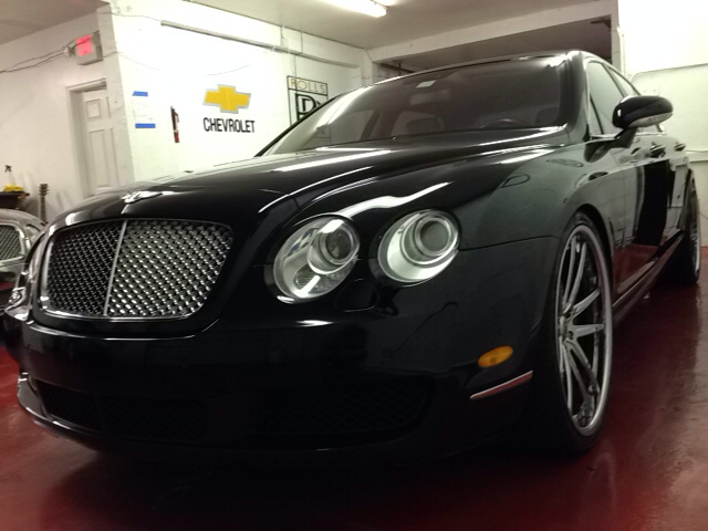 2006 BENTLEY CONTINENTAL FLYING SPUR BASE AWD 4DR SEDAN black abs - 4-wheel active adjustable lu