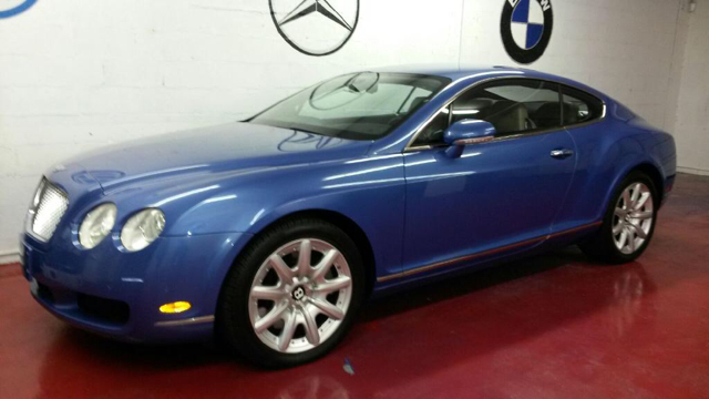 2004 BENTLEY CONTINENTAL GT BASE 2DR COUPE blue abs - 4-wheel alloy wheels center console clock