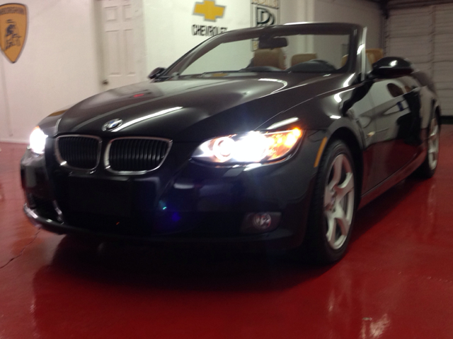 2008 BMW 3-SERIES 328I CONVERTIBLE black navigation brown interior loaded bad credit2000