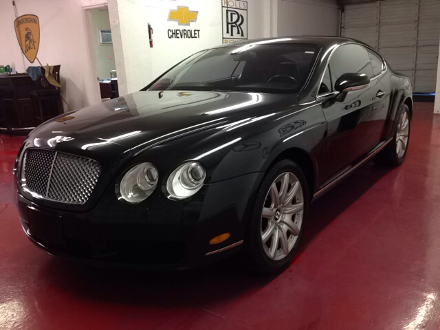 2004 BENTLEY CONTINENTAL GT BASE 2DR COUPE black super clean muliner package right color combo