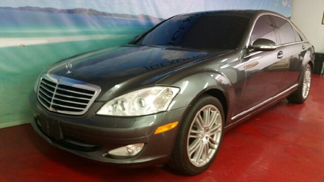 2007 MERCEDES-BENZ S-CLASS S550 4DR SEDAN grey panoramic fully loaded clean car fax easy financin