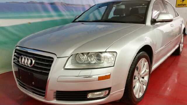 2009 AUDI A8 QUATTRO AWD 4DR SEDAN silver clean car fax clean title fully loaded easy fina