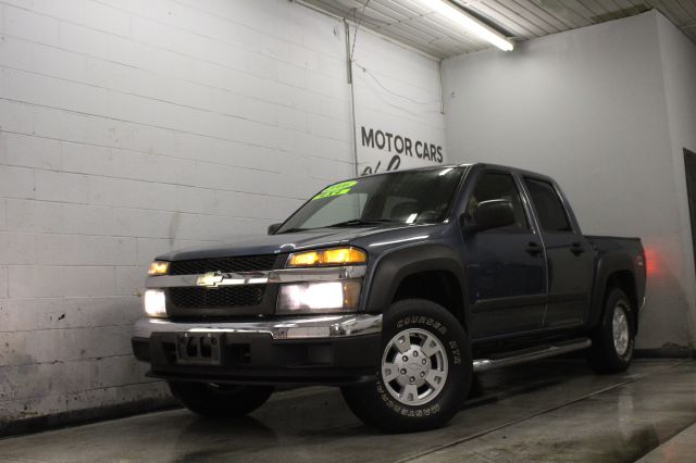 2006 CHEVROLET COLORADO LT 4DR CREW CAB 4WD SB blue 4x4 currently at our location in lansing can
