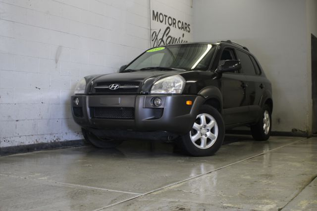 2005 HYUNDAI TUCSON GLS 4DR SUV black abs - 4-wheel anti-theft system - alarm axle ratio - 44