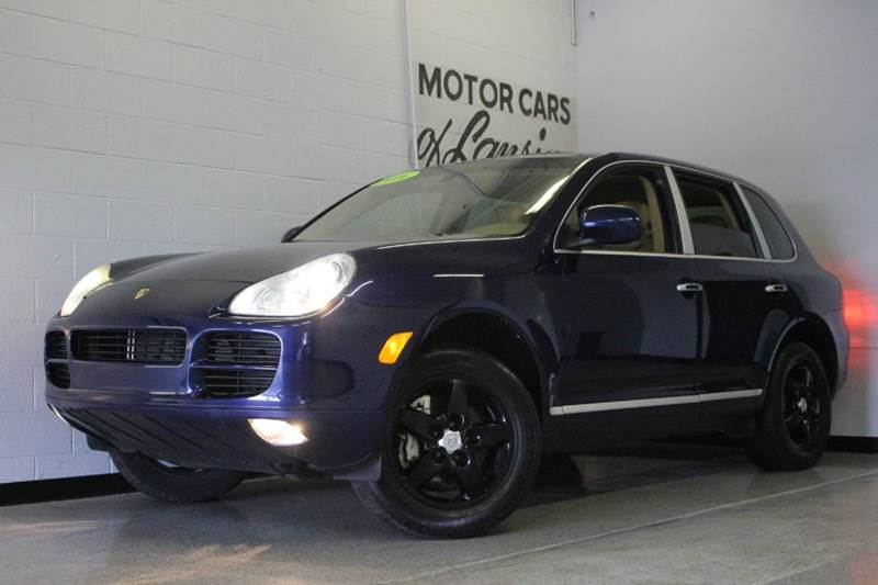 2006 PORSCHE CAYENNE S AWD 4DR SUV blue 45l v8 awd bluetooth connection with bose stereo heate