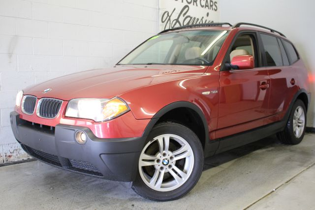 2005 BMW X3 30I AWD 4DR SUV red  3 month 4000 mile limited powertrain warranty is available in