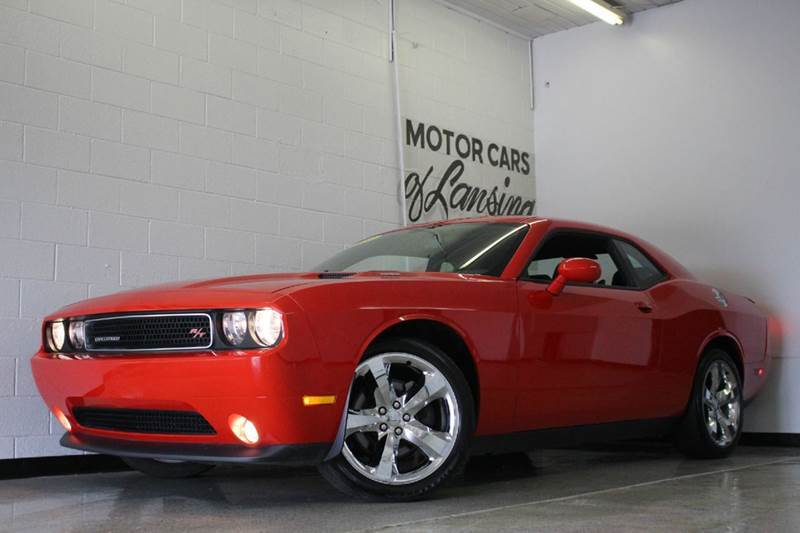 2014 DODGE CHALLENGER RT 2DR COUPE red awd 57l v8 hemi low miles sun roof 2-stage unlockin