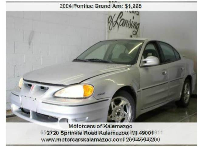 2004 PONTIAC GRAND AM GT 4DR SEDAN silver runs and drives great  priced to sell wont last long