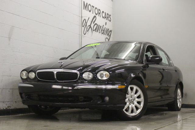 2003 JAGUAR X-TYPE 25 AWD 4DR SEDAN black awd must see currently at our location in lansing al