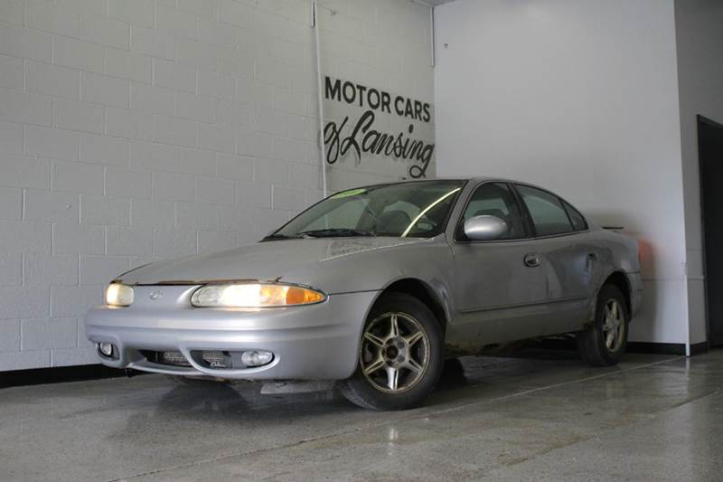 2000 OLDSMOBILE ALERO GL 4DR SEDAN silver as is runs and drives needs some work power steering