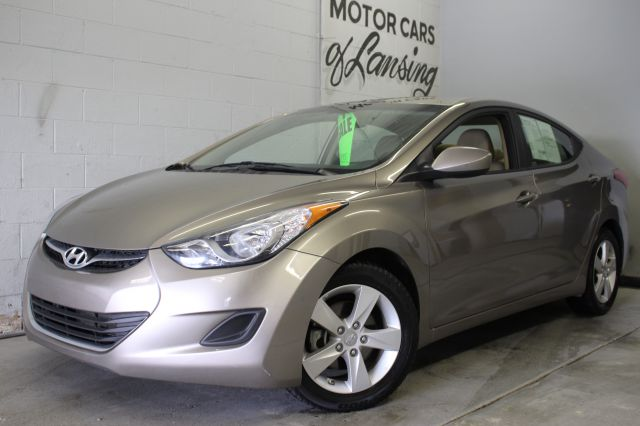 2013 HYUNDAI ELANTRA GLS 4DR SEDAN 6A WALLOY WHEELS pewter like new inside and out super low mil