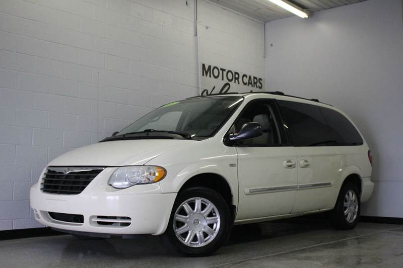 2007 CHRYSLER TOWN AND COUNTRY TOURING 4DR EXTENDED MINI VAN white 2-stage unlocking - remote ab