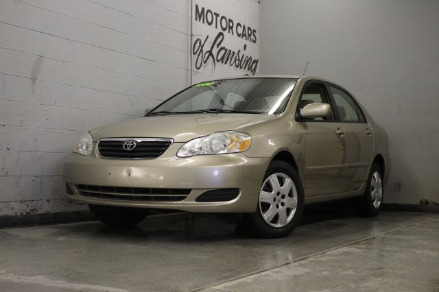 2006 TOYOTA COROLLA CE 4DR SEDAN 18L I4 4A gold air filtration antenna type anti-theft system