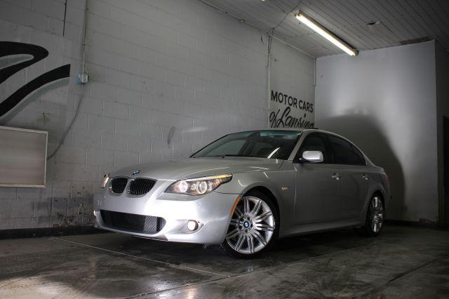 2008 BMW 5 SERIES 550I SEDAN LUXURY silver m sport package immaculate abs - 4-wheel air filtrati