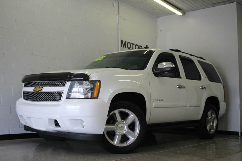 2007 CHEVROLET TAHOE summit white vortec 53l v8 sfi flex fuel and 4wd like new shoulders the b