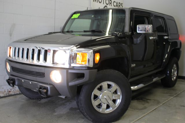 2007 HUMMER H3 ADVENTURE 4DR SUV 4WD black 2-stage unlocking - remote 4wd type - full time abs -