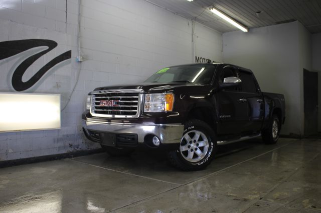 2008 GMC SIERRA 1500 SLE1 PICKUP CREW CAB 4WD burgendy abs - 4-wheel airbag deactivation - occup