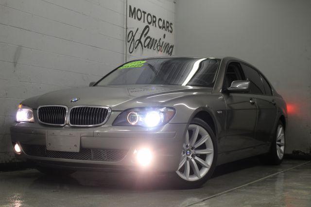 2008 BMW 7 SERIES 750LI 4DR SEDAN tan 2-stage unlocking - remote abs - 4-wheel active suspension