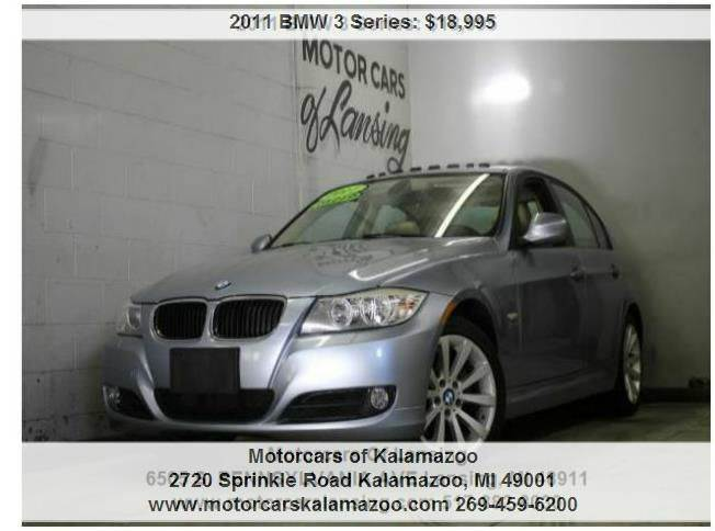 2011 BMW 3 SERIES 328I XDRIVE AWD 4DR SEDAN SULEV blue everyone is approved