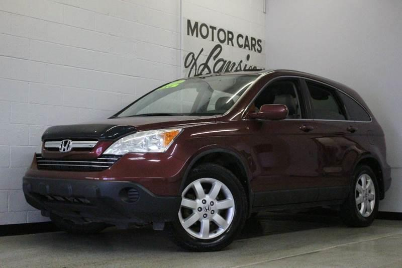 2009 HONDA CR-V EX-L AWD 4DR SUV red 2-stage unlocking - remote 4wd type - on demand abs - 4-wh