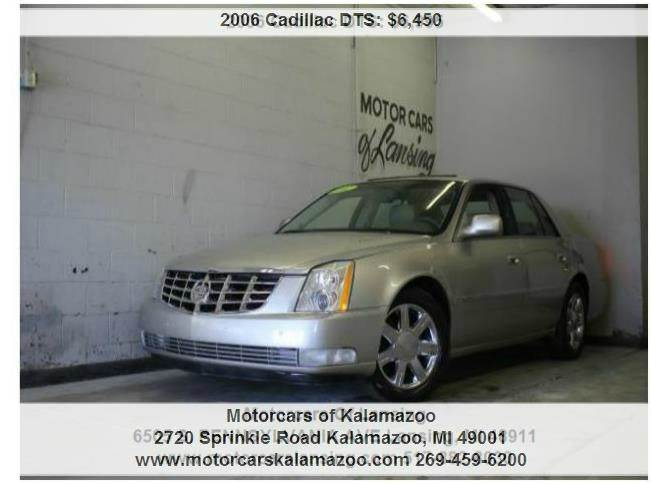 2006 CADILLAC DTS BASE silver northstar 46l v8 sfi dohc and fwd top-of-the-line stellar gas sa