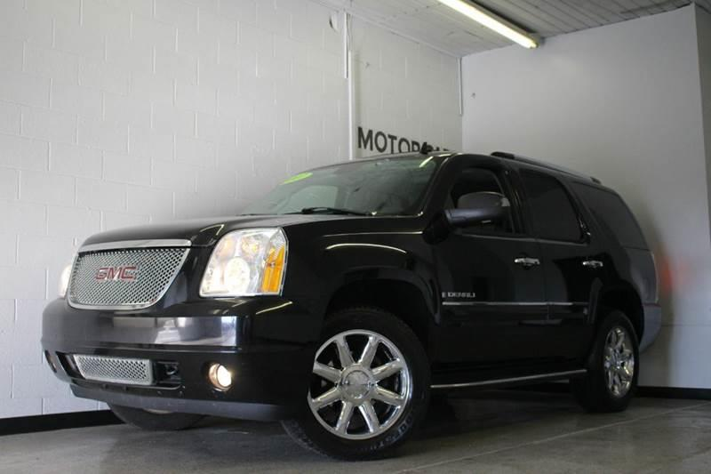 2007 GMC YUKON DENALI AWD 4DR SUV black 62l v8 leather navigation bluetooth hid headlights