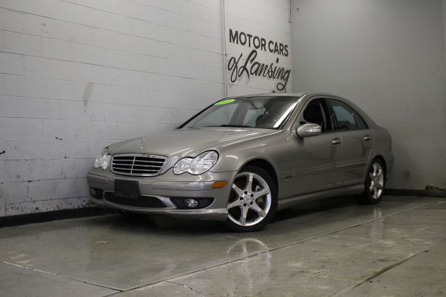 2007 MERCEDES-BENZ C-CLASS C230 SPORT 4DR SEDAN silver well maintainedspoilershows great 3 mon