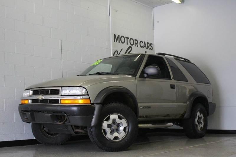 2001 CHEVROLET BLAZER LS 4WD 2DR SUV black abs - 4-wheel anti-theft system - alarm axle ratio -